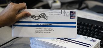 'Small number' of ballots for Trump found in trash