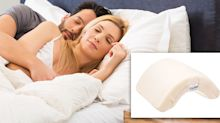 No more dead arm: Man invents £39 'spooning pillow' for couples