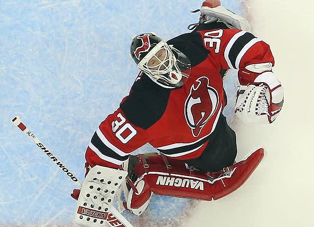 Is Martin Brodeur still the New Jersey Devils' starting goalie?