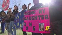 Immigration activists protest against deportations