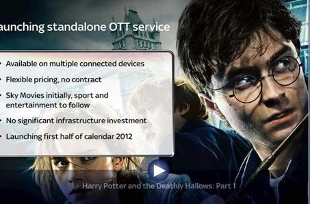 Sky TV to offer cable access via broadband in the UK