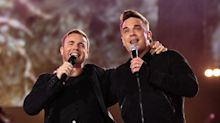 Robbie Williams reunites with Take That bandmate Gary Barlow for lockdown duet