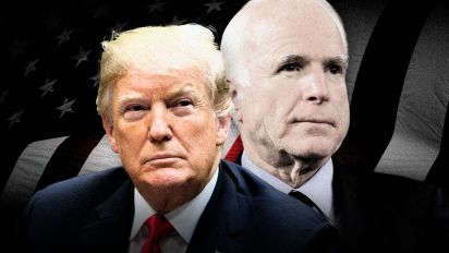 Why does Trump keep talking about McCain?