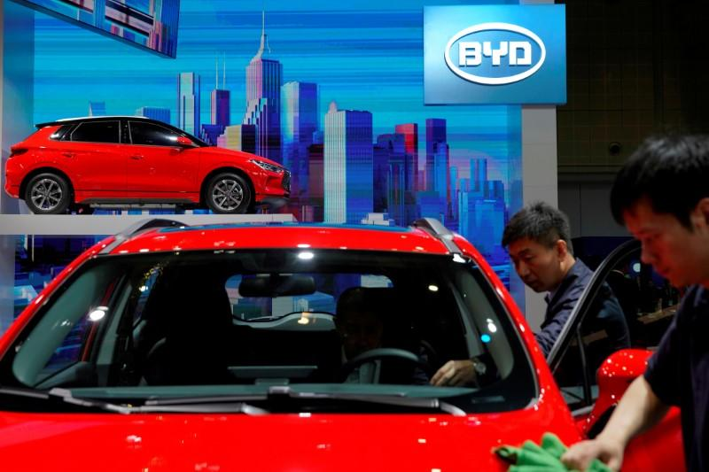 Buffett-backed BYD to supply EV batteries to Ford Thumbnail