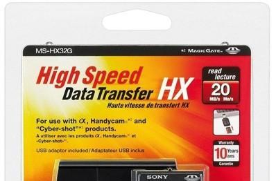 Sony's 32GB Memory Stick Pro-HG Duo HX proves that product naming is hard