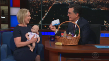 Stephen Colbert helps Kirsten Gillibrand avoid Hillary Clinton's mistake
