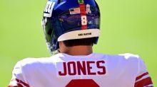 Giants' Daniel Jones already 'feeling better,' wants to play