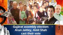 Gujarat assembly election: Arun Jaitley, Amit Shah cast their vote