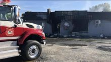 Commercial building gutted after early morning fire in Campbellton
