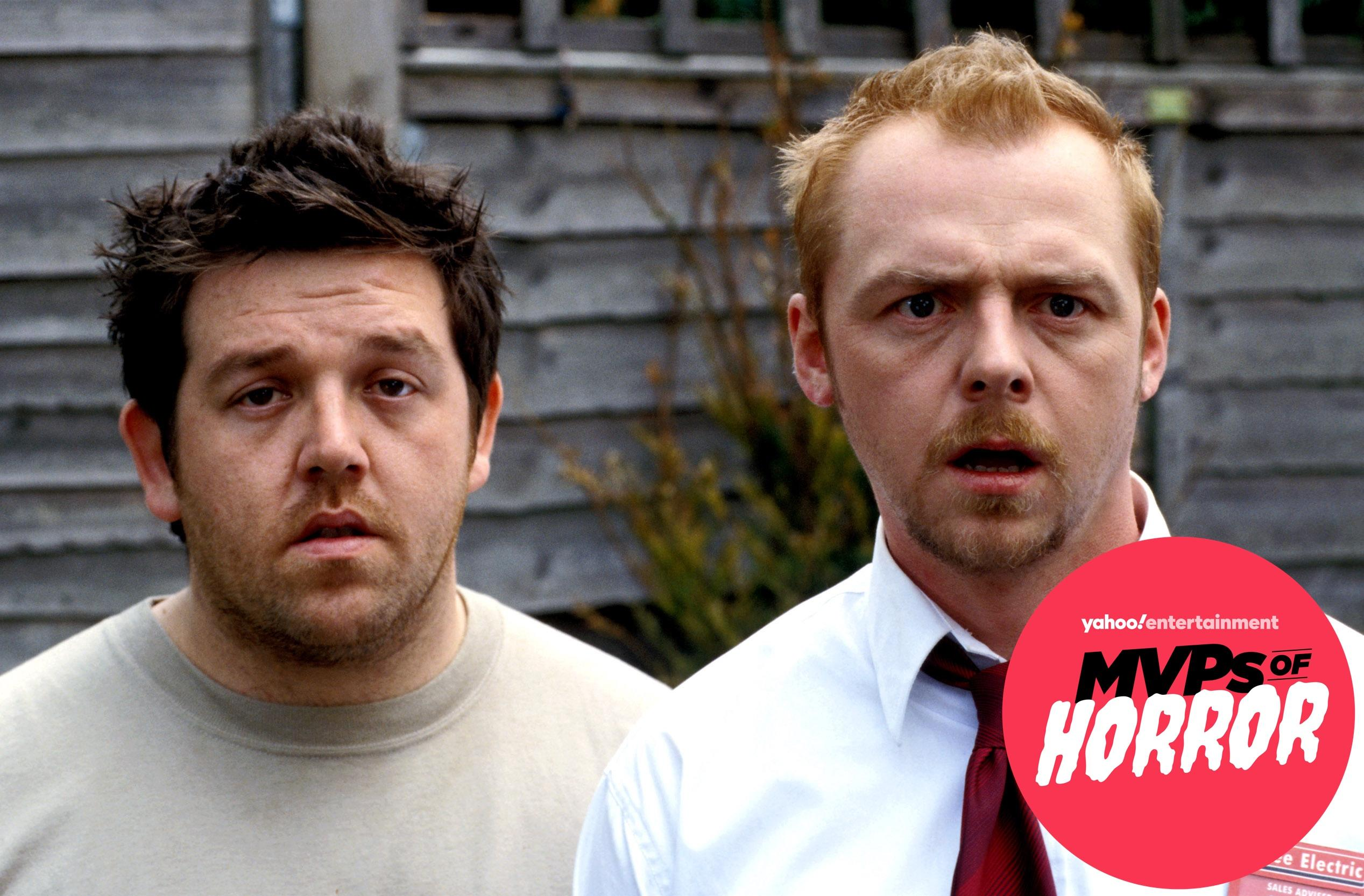 MVPs of Horror: Simon Pegg on the existential terror of zombies and whether Chris Martin really cameos in 'Shaun of the Dead'