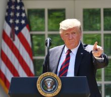 Trump says 'good thing' that Iran confused by US stance