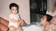 Así lucían Kim Kardashian y su hermana Kendall hace 23 años