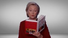 Hillary Clinton Brings The Heat In 'Fire And Fury' Reading During Grammys