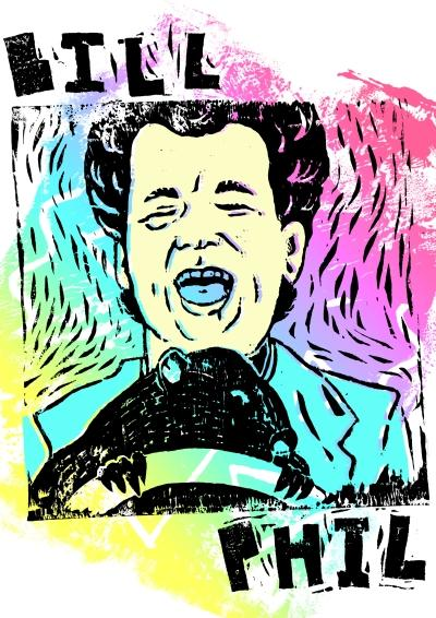 This Is What a Bill Murray Coloring Book Looks Like
