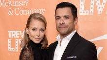 Kelly Ripa's celeb friends go wild over 'nude' Instagram of husband Mark Consuelos
