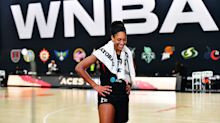 MVP A'ja Wilson is larger than life in Saweetie's music video before season tipoff
