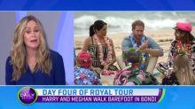 Day four of royal tour