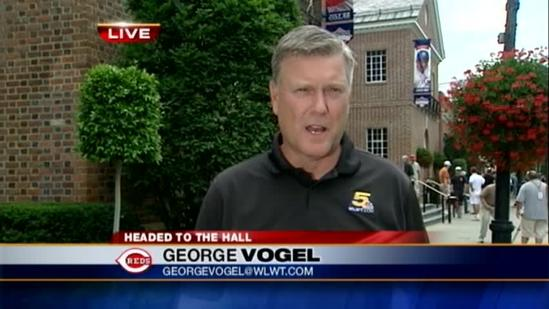 Reds fans soaking up Cooperstown experience