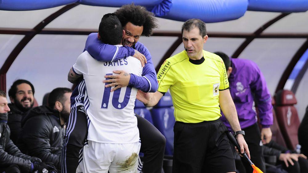 """""""No Real Madrid eu preciso correr mais do que na Colômbia"""", diz James Rodriguez"""