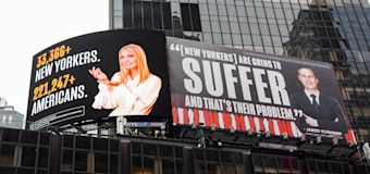 Ivanka, Jared threaten to sue over Times Square billboards