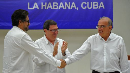 Colombia announces historic peace deal after four years of talks