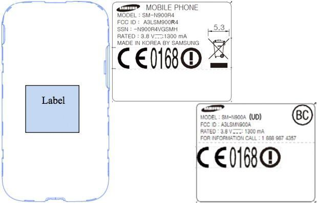 Samsung Galaxy Note 3 reaches the FCC with AT&T- and Sprint-compatible bands (update: other US carriers)