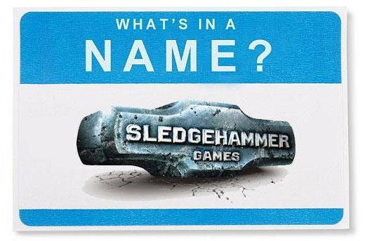 What's in a Name: Sledgehammer Games