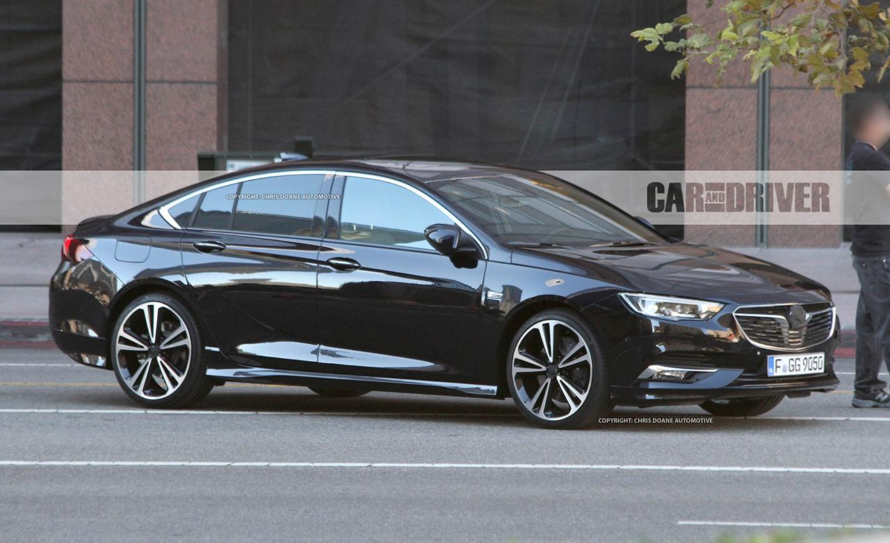 2018 buick regal sedan and wagon spied they re undisguised and they re hot
