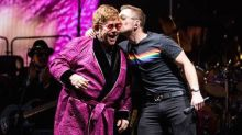 Watch Taron Egerton and Elton John Surprise Fans With 'Your Song'