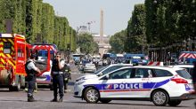Driver of police targeted 'terror attack' in Paris had guns, gas canisters in vehicle