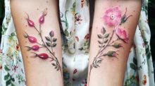 These Beautiful Floral Tattoos Will Totally Tempt You To Get Inked