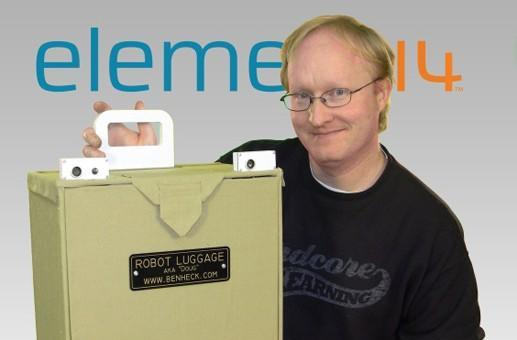 Ben Heck's wireless luggage will draw R2-D2 comparisons, stares from the TSA