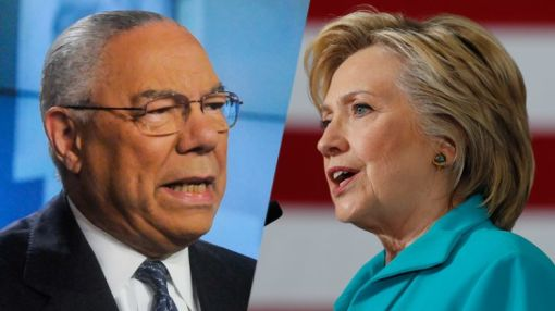 Clinton: I won't respond to Colin Powell's 'hubris' bash in leaked emails