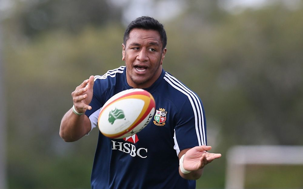 Mako Vunipola is a strong contender for the Lions - Getty Images Sport