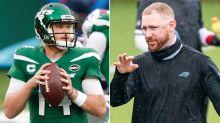 Mark Sanchez believes Panthers' Joe Brady can help save Sam Darnold