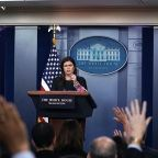 WH Press Secretary Sarah Sanders Interviewed By The Special Counsel