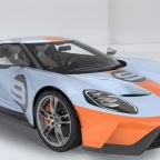 The first 2019 Ford GT Heritage Edition will be auctioned at Barrett-Jackson