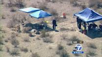 Skeletal remains of 4 bodies found in IE desert