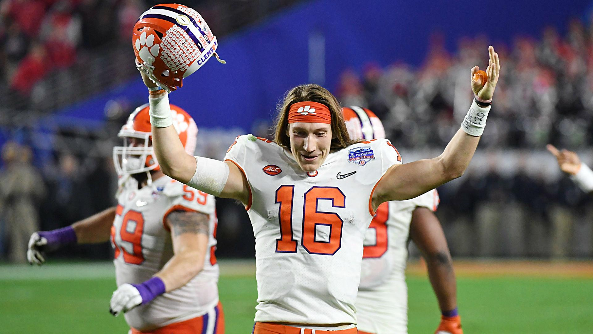 Clemson's Trevor Lawrence knows white athletes can't ...