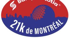 Runners are lacing up their shoes in support of charities, as part the Banque Scotia 21k de Montréal