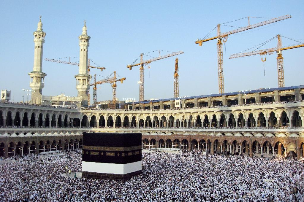 Saudi Arabia's ruling family are the custodians of Islam's holiest sites in Mecca and Medina (AFP Photo/Khaled Desouki)