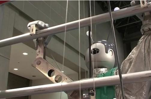 Ladder-climbing robot brings us one step closer to extinction (video)