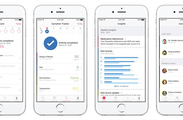 Apple's CareKit helps patients better manage their illnesses