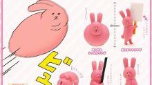 日本奇譚出「肥兔」扭蛋 超治癒最想要「拱橋」
