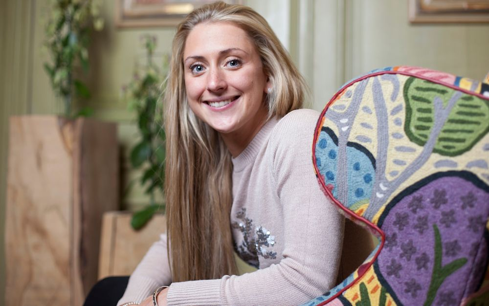 Laura Kenny hopes to get her racing career back on track once she has given birth to her first child - Rii Schroer