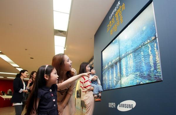Samsung brings Van Gogh 'paintings' to Korea via Smart TV, makes us reach for the absinthe
