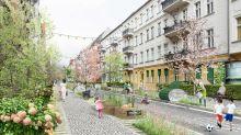 Aktion am Sonntag: Verkehrswende: Grüne testen die Wohnstraße ohne Parkplätze