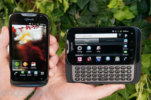 T-Mobile myTouch and myTouch Q coming August 8th for $50, we go hands-on