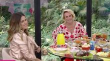 Em participação relâmpago no 'Mais Você', Maisa faz merchan na Globo