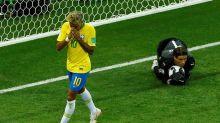 Le Brésil cale d'entrée